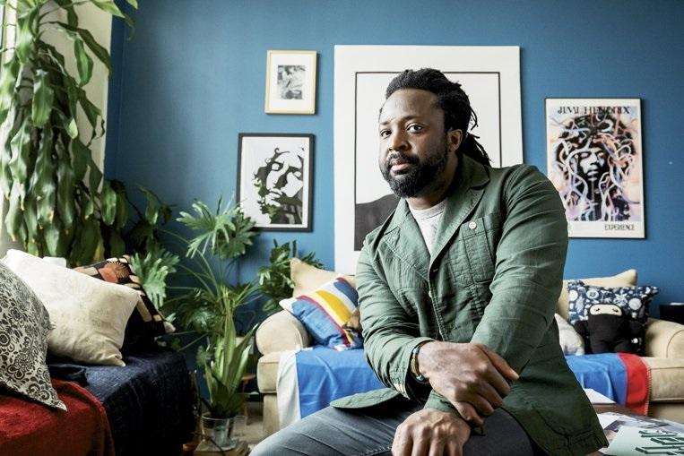 Marlon James, autor de Leopardo Negro, Lobo rojo