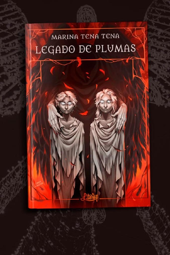 Legado de plumas (cubierta de Libertad Delgado)
