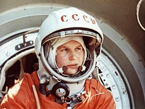 Valentina Tereshkowa, la primera mujer en viajar al espacio