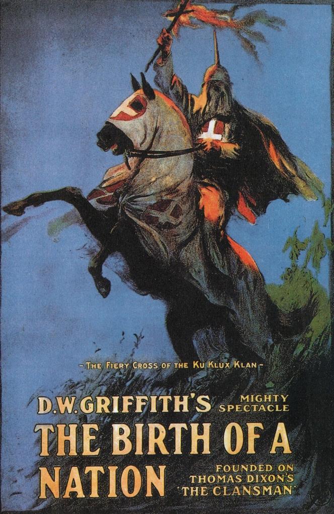 """Cartel de la película """"El nacimiento de una nación"""", de D. W. Griffith"""